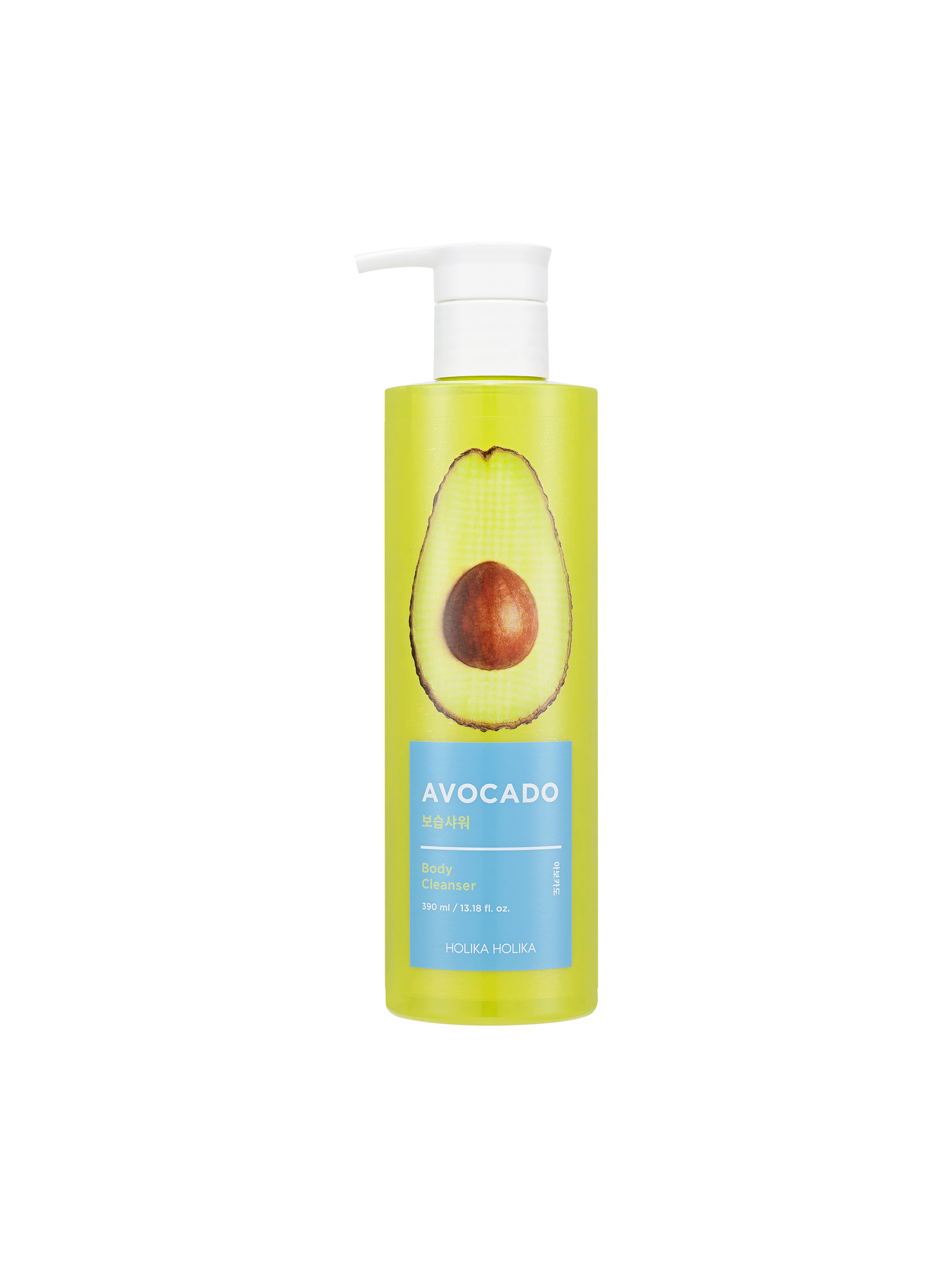 Гели для душа Гель для душа с авокадо, HOLIKA HOLIKA, Avocado Body Cleanser 390мл 2291-8806334371722.jpg
