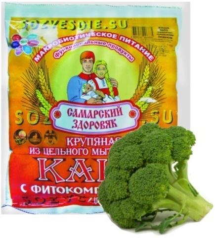 Каша Самарский Здоровяк №3 Пшенично-рисовая с брокколи