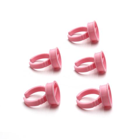 Кольцо для клея, розовое (1уп - 5шт)