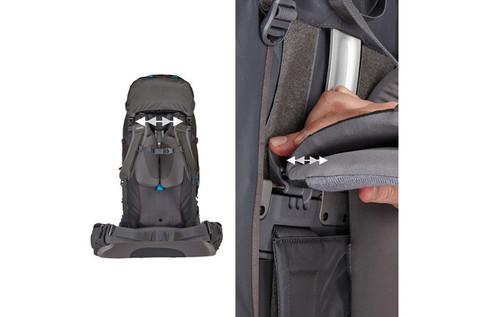 Картинка рюкзак туристический Thule Guidepost 75L Синий/Тёмно-Синий - 8