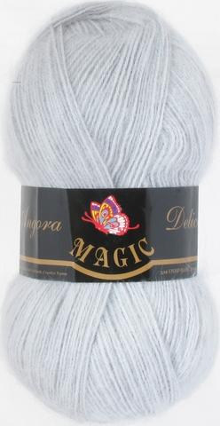 Пряжа Angora Delicate Magic 1128 Светло-серый - купить в интернет-магазине недорого klubokshop.ru