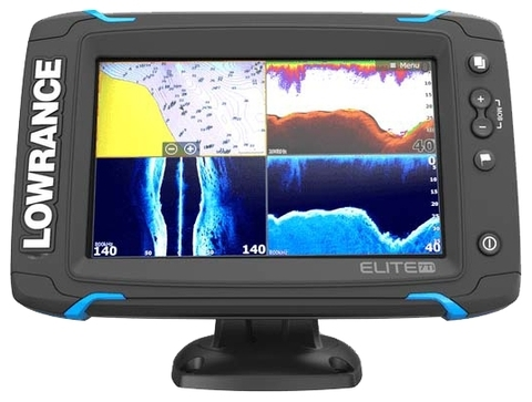 Lowrance Elite-7 Ti Mid/High/TotalScan