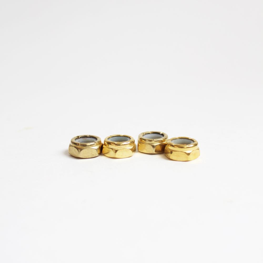 Гайки на ось FIVE HARDWARE (Gold) 4шт.