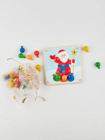 Карточки новогодние для мозаики Raduga Kids, 3+