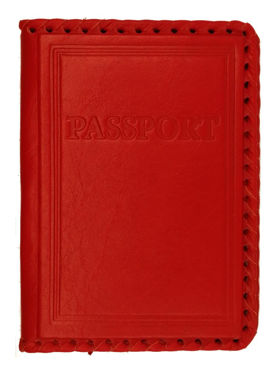Обложка на паспорт | PASSPORT | Красный