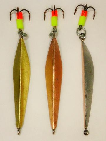 Блесна ручной работы для ловли хищной рыбы