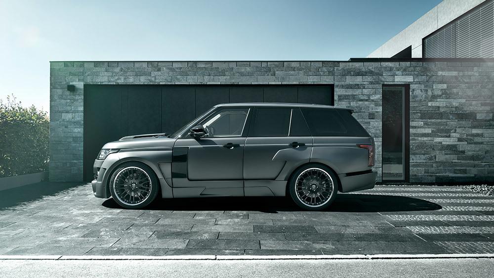 Обвес Hamann для Range Rover Mystery Widebody