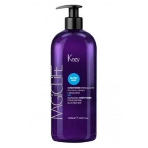 Кондиционер укрепляющий для светлых волос Kezy Magic Life Blond Hair Energizing Conditioner 1000 мл
