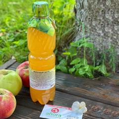 Уксус яблочный натуральный / 500 мл