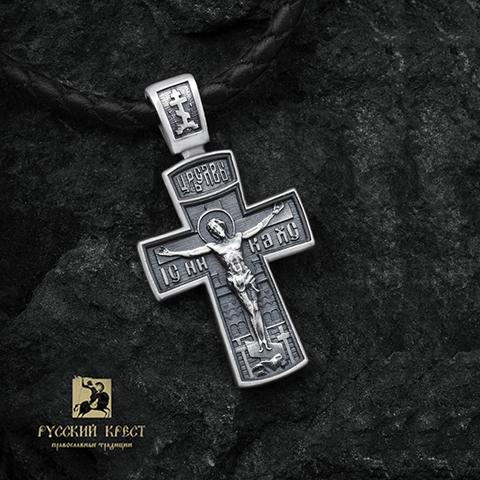 Нательный крестик православный