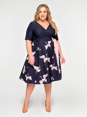 Платье с запахом 166308