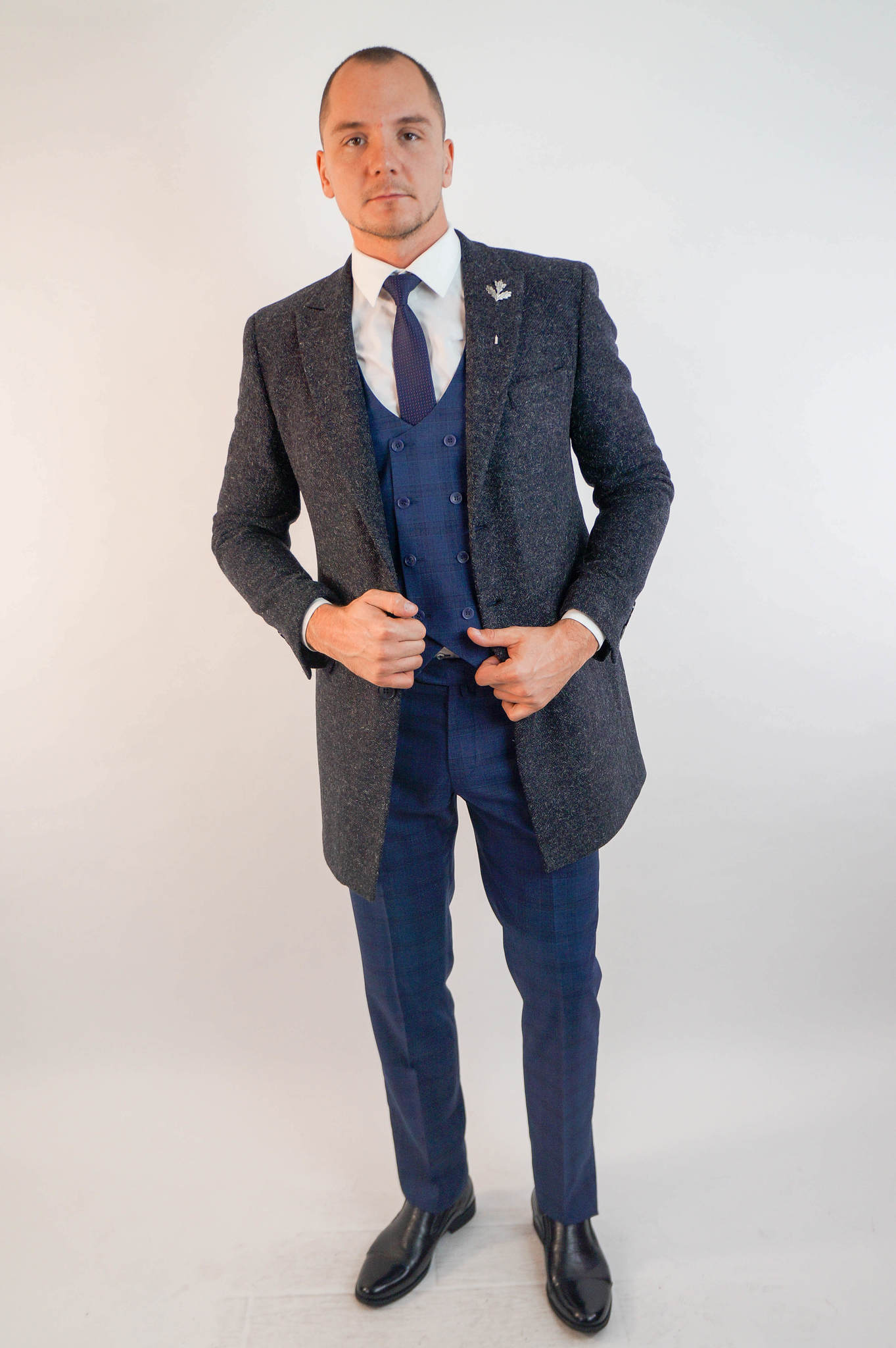 Пальто мужское оптом Пальто мужское Slim Fit 50/99 DSC02407.jpg