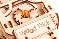 Механический 3D-пазл из дерева Wood Trick Тягач