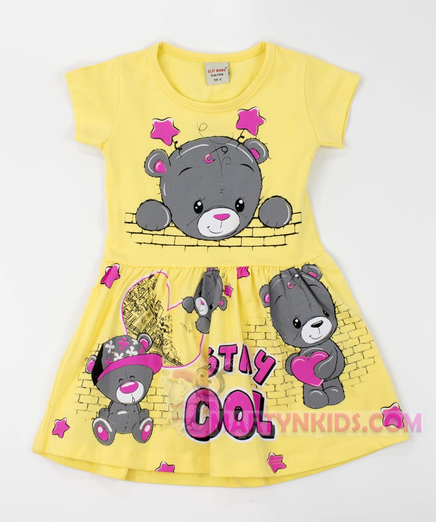 3149 платье Мишка COOL
