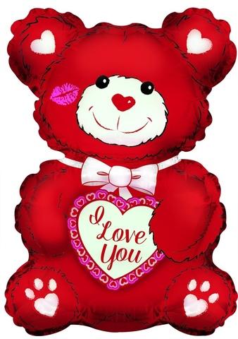 Мишка  I Love You