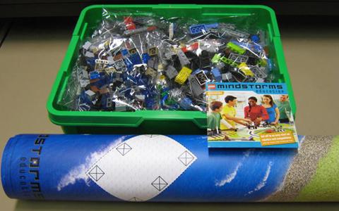 LEGO Education Mindstorms: ПервоРобот NXT Экоград 9594 — Green City Challenge — Лего Образование