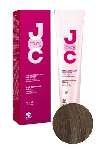 Крем-краска для волос 8.1 светлый блондин пепельный JOC COLOR, Barex