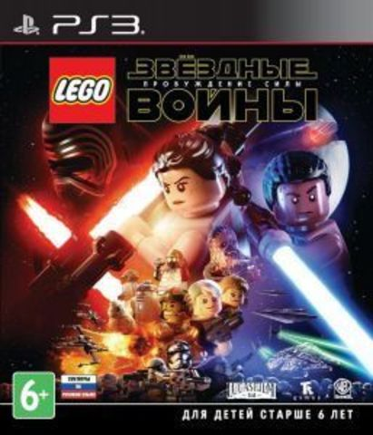LEGO Звездные войны: Пробуждение Силы (PS3, русские субтитры)
