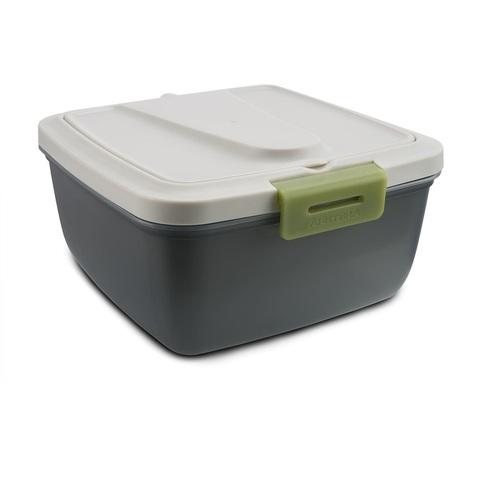Ланчбокс Арктика (1,6 литра), серый/зеленый