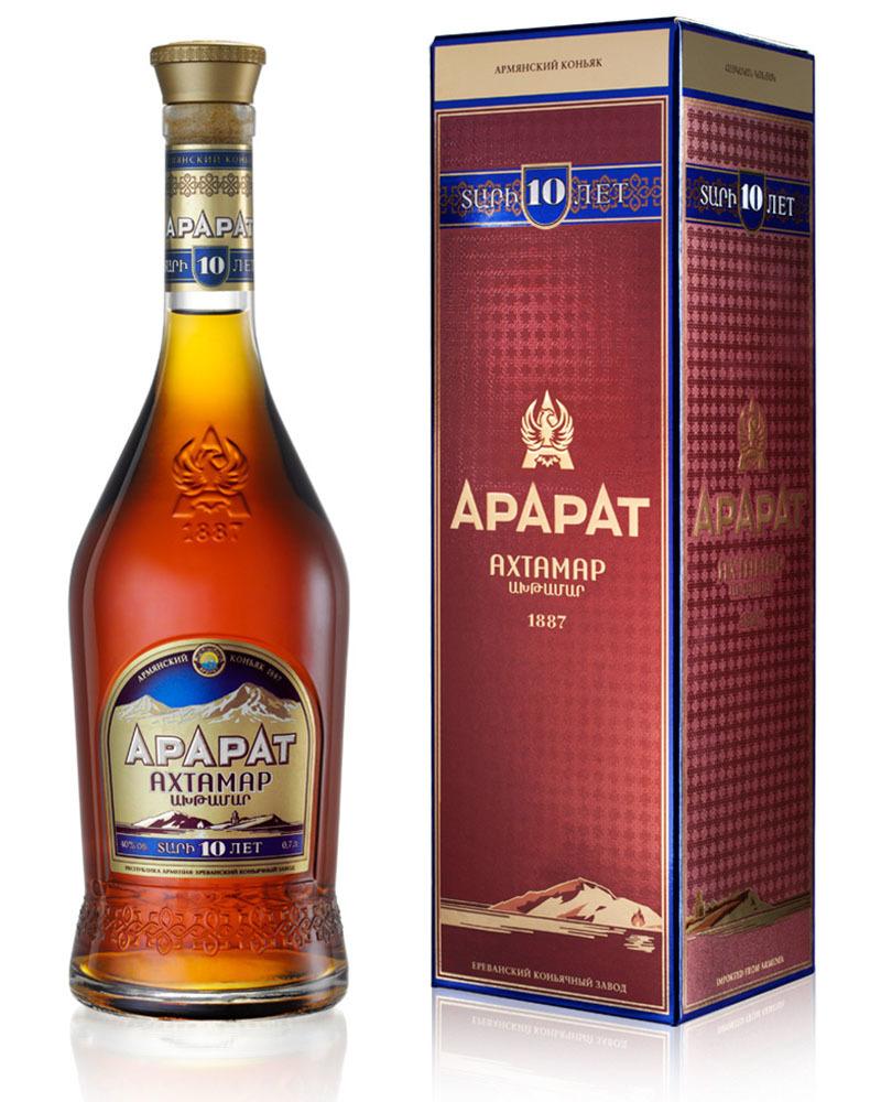 Коньяк Ararat Ахтамар 10 лет 40%, 0,7 л.