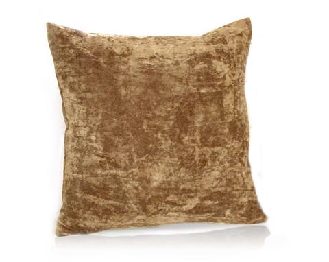 Подушка декоративная Бархат коричневый