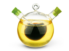 7520 FISSMAN Ёмкость для жидких специй, масла 2в1 85 мл / 375 мл