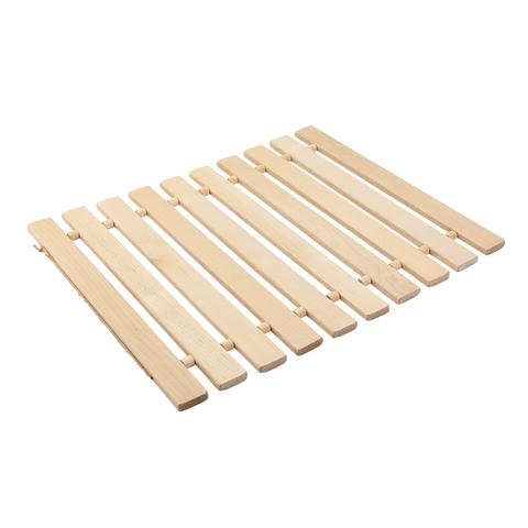 Коврик деревянный, липовая рейка, 46х35 см