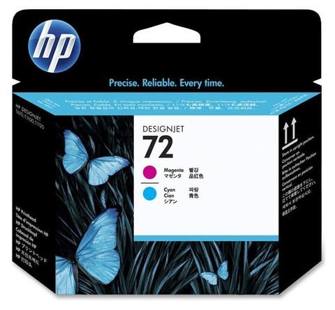 Оригинальная печатающая головка HP C9383A (№72), пурпурная и голубая