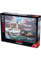 Puzzle Portland Deniz Feneri. Portland Head Lighthouse 260 pcs