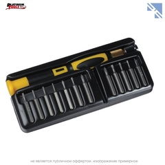 Набор инструментов Platinum Tools Micro Mini II набор бит с ручкой (13 шт)