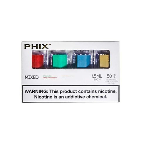 Сменный Картридж для PHIX.ФИКС Инфьюжн Миксед х4, 1.5 мл 50 мг