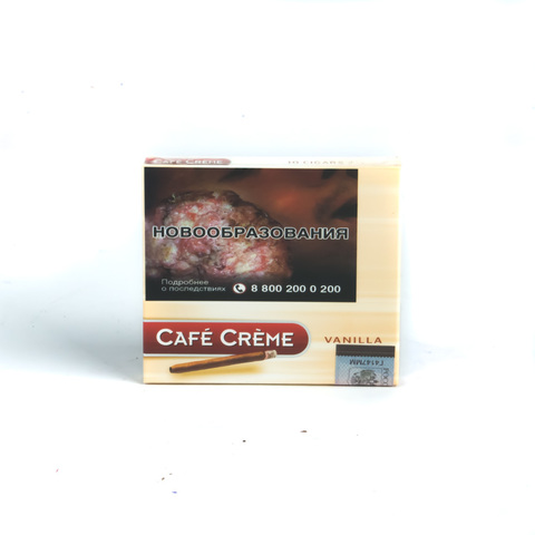 Сигариллы Cafe Creme Vanilla 10 шт