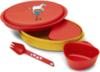 Картинка набор посуды Primus Meal Set Pippi Red - 1