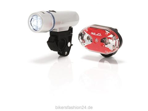 Картинка фонарь велосипедный XLC Комплект Triton/Thebe CL-S03  - 1