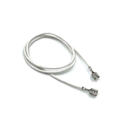 Провод жаропрочный, обжатый, длина 70 см, фастон + фастон для электроплит