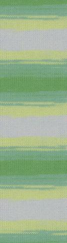 Пряжа Alize Baby Wool Batik жел-зел 2131