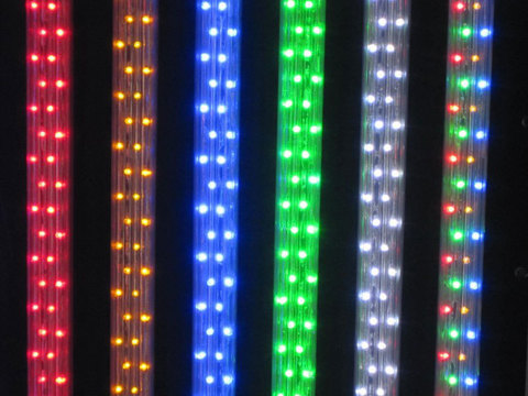 ленты разноцветные  разные плоские дюралайт купить