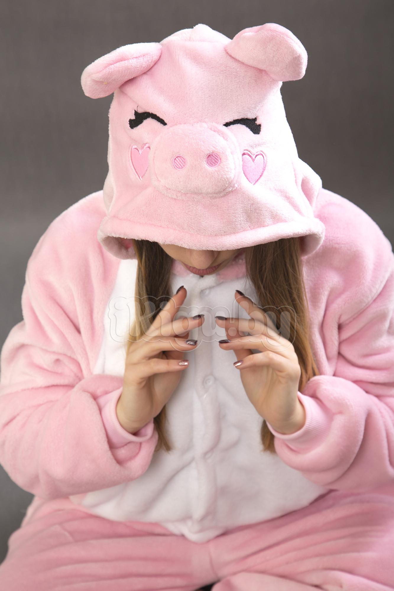 Пижамы кигуруми Розовый Поросёнок pigs.jpg