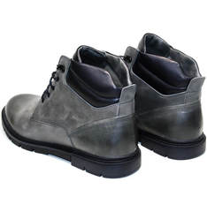 Ботинки мужские зимние кожаные Ikoc 3620-3 S