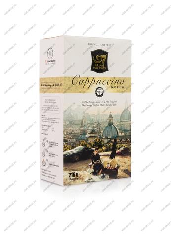 Вьетнамский растворимый кофе G7 Капучино Мока, Original, 12 пак.
