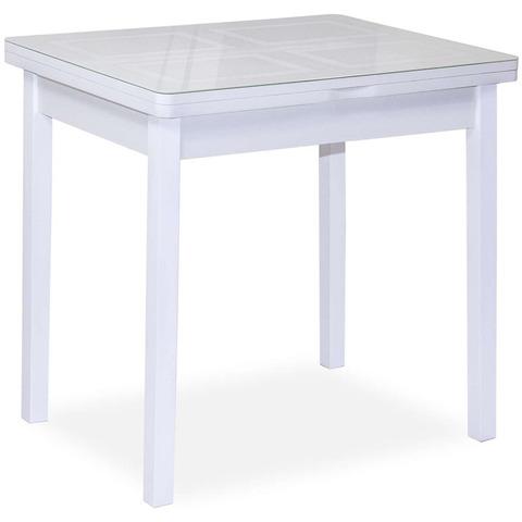Стол Дакар-2 / Белый/ Рис.1 /60(120)х80 см