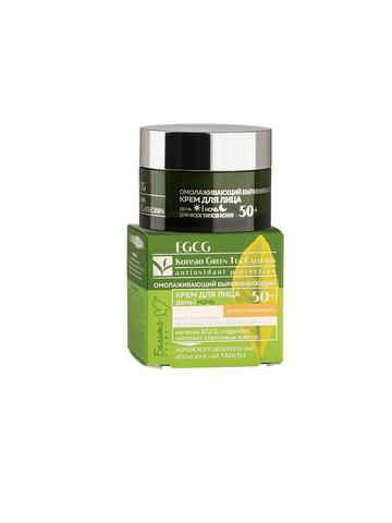 Белита М EGCG Korean GREEN TEA Крем для лица день-ночь омолаживающий  для всех типов кожи 50+ 50г