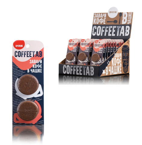 Кофе COFFEETAB КРЕПКИЙ