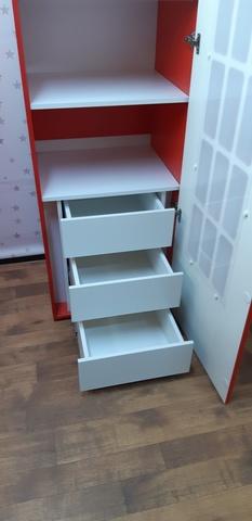 Контейнер с выдвижными ящиками для шкафов Амстердам и Лего