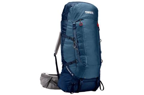 Картинка рюкзак туристический Thule Guidepost 75L Синий/Тёмно-Синий - 1