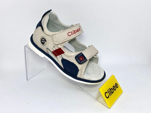 Clibee F262 Beige/Blue 26-31