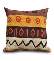 Подушка диванная квадратная Африка