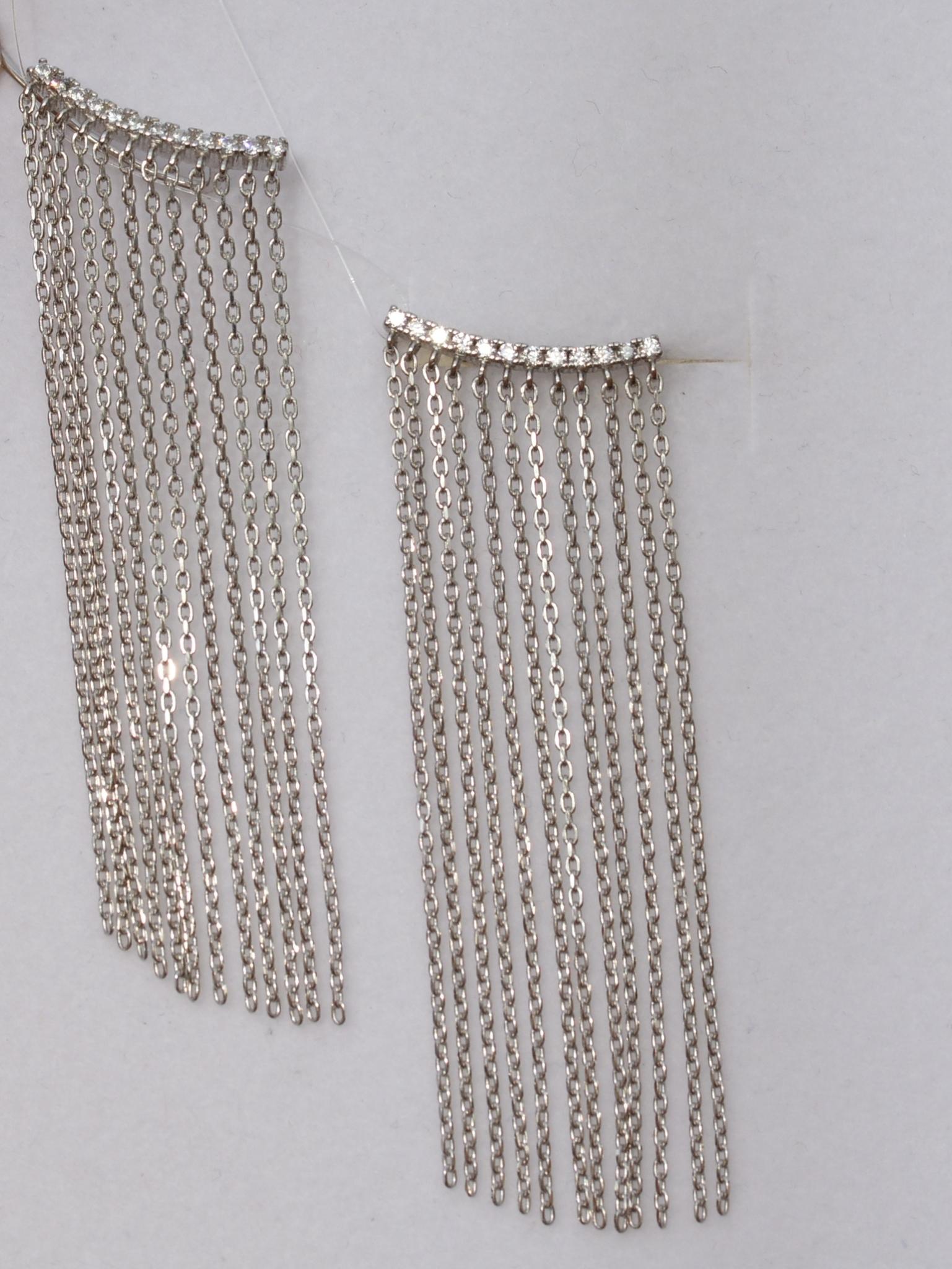 Каффы 6,0 (серебряные серьги)