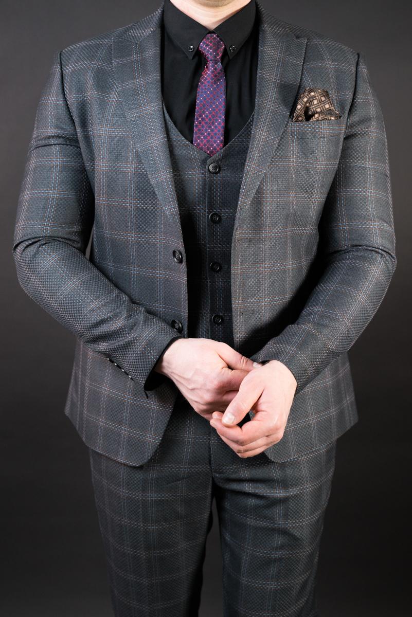 Популярное Костюм мужской - тройка Slim Fit Antonio Rossi 02/081 DSC01505.JPG