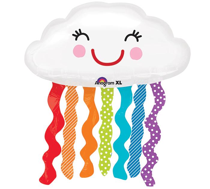 облако белое с висюльками америка облачко